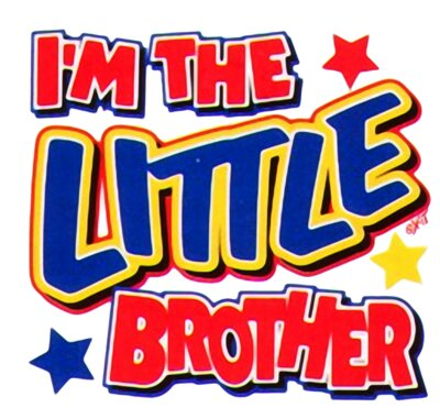 im the little brother
