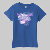 True Diva -  Ladies Most Popular Tee LPC61