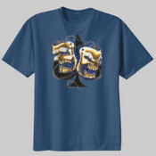 skull mask - 100% Cotton Beefy Tee