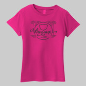 Wineaux Black -  Ladies Most Popular Tee LPC61