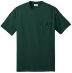 Port & Company® Tall 50/50 Cotton/Poly T- Shirt with Pocket. PC55PT